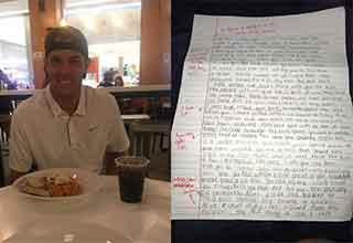 dude grades his ex's apology letter