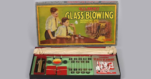 kids glass blowing kit