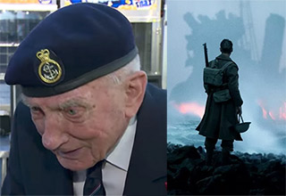dunkirk veteran sees new movie, reacts
