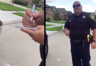 Texas Cop Attempts To Arrest Black Teenage For Mowing Grass Without An ID