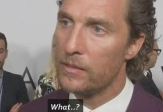 Matthew McConaughey Reacts to the News of Sam Shepard Passing