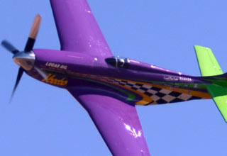Adrenaline Pumping Sound Of The P-51 Voodoo  At Nearly 500 MPH