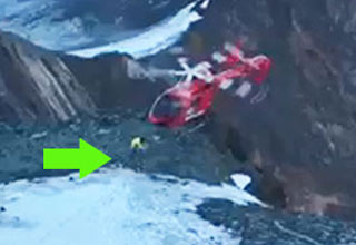 Intense Footage of a Rescue Helicopter Crashing During A Rescue Mission