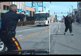 Dash Cam Shows A Crazy Shootout Between A Man And Police In Atlantic City
