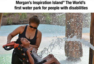 Morgan's Inspiration Island - world's first water park for kids with disabilities