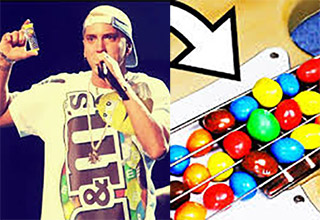 Eminem songs made with M&M's