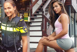 Hot girl who is also a fire fighter