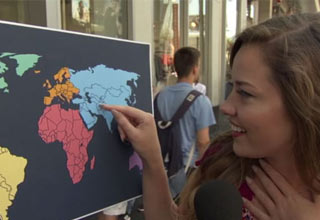 Watch  Americans Struggle To Find North Korea On The Map