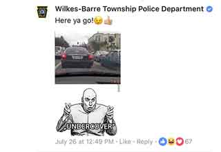 Small Town Police Force Has The Best Facebook Comebacks
