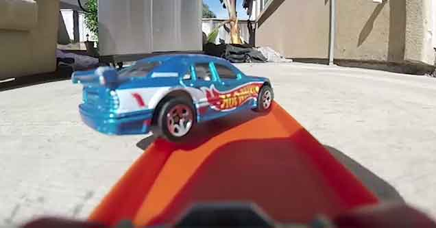 These POV Hot Wheels Stunts Are Mesmerizing