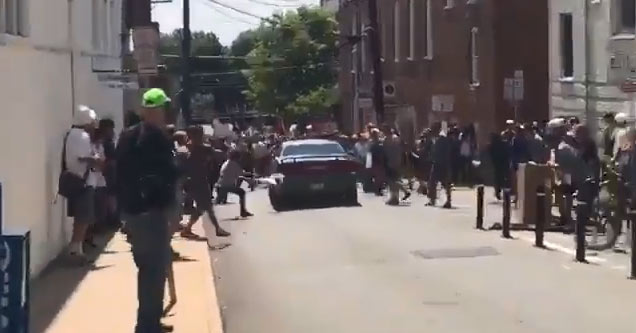 Terrifying Video Of A Car Plowing Through Protesters In Virginia, Killing 1, Injuring 19