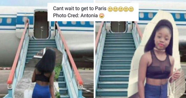 girl photoshopped near get