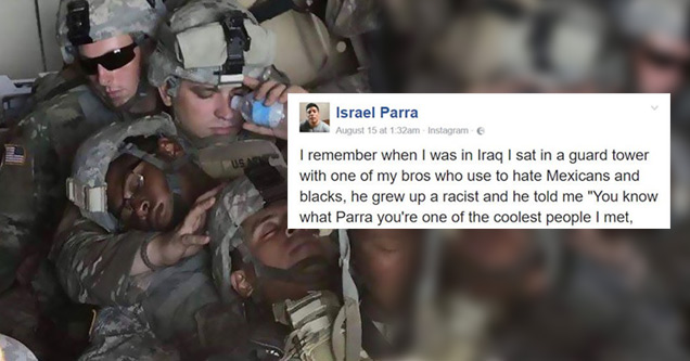 A Previously Racist Man Shares How The Military Changed His Mind