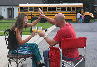 parents excited that school is back
