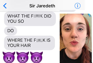 Girl Hilariously Trolls Her Boyfriend With The Help Of Photoshop
