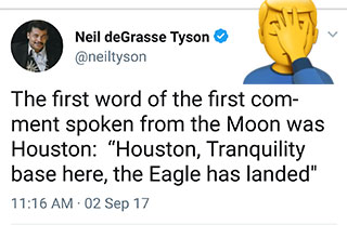 Neil DeGrasse Tyson is a too smart for twitter and it will make you facepalm