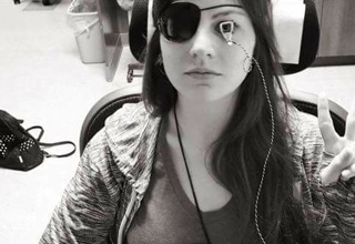 24 Year Old Girl figures out how to restore her eye sight