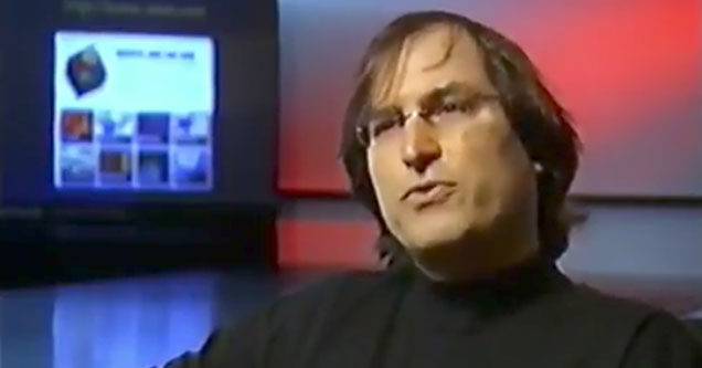 steve jobs with some shocking predictions about Apple downfall