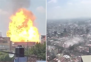 earthquake hits mexico city