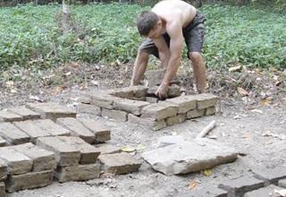 Making Mud Bricks Using Primitive Technology