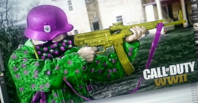 CODWW2Purple02 cheaters are taking over call of duty wwii wow article ebaum's