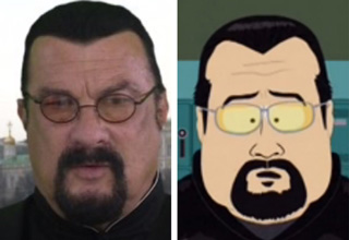 steven seagal new look