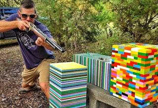 LEGOS  Are Damn Near Bullet Proof.
