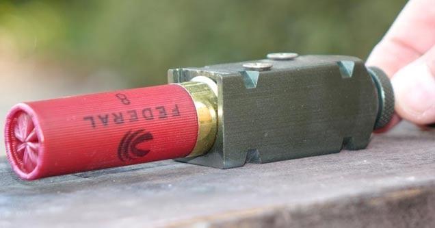 Firing A Shotgun Shell Outside Of The Gun