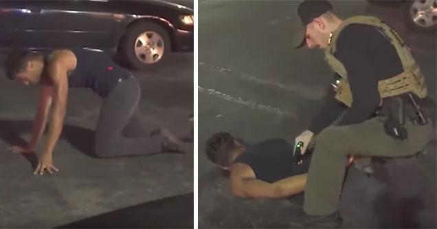 asshole cops meets the nicest man he'll ever arrest