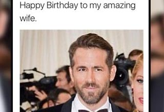 Ryan Reynolds Gets Trolled Even Harder By His Wife