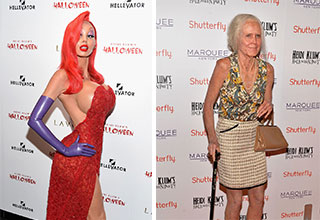 Heidi Klum is the best at halloween costumes