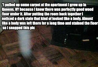 ghost that got caught on camera
