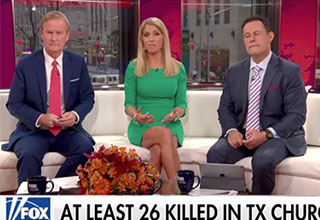 fox news tries to find the positive in the texas shooting