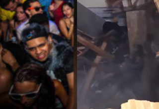 Apartment Floor Collapses During A Huge College Party