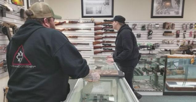 antifa visits a gun store
