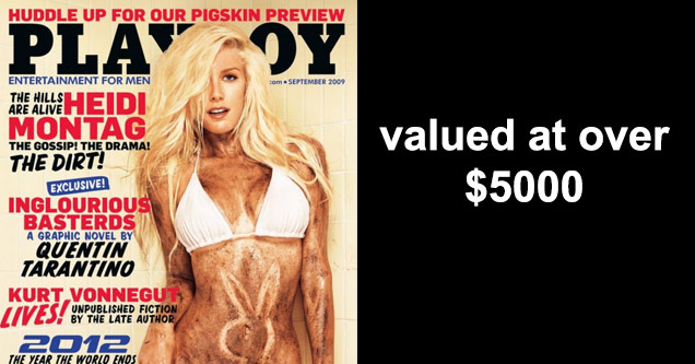 10 of the Most Valuable Editions of Playboy Magazine