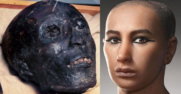 historical faces reconstructed
