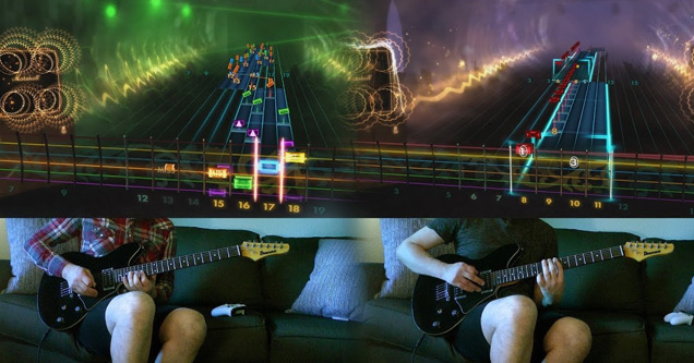 Playing Through The Fire And Flames on Rocksmith is WAY More Impressive Than on Guitar Hero