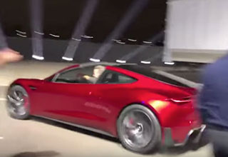 watch how fast the new tesla accelerates