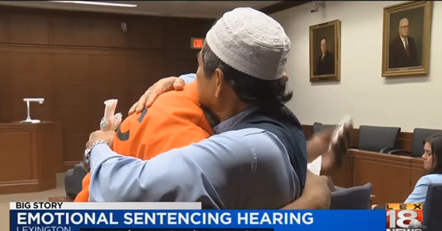 A Father Brings The Court To Tears After Forgiving His Son's Killer
