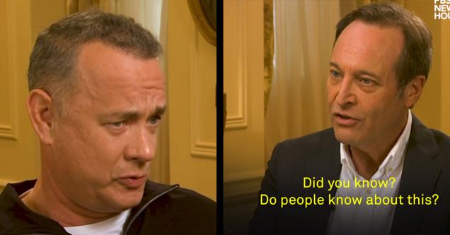 Tom Hanks Weighs In On Harvey Weinstein And Predators In Hollywood