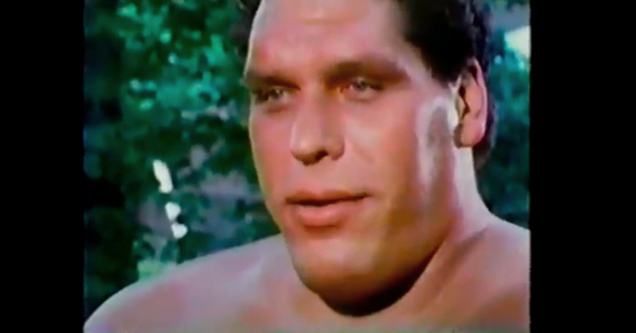 Andre The Giant Talks About Steroids