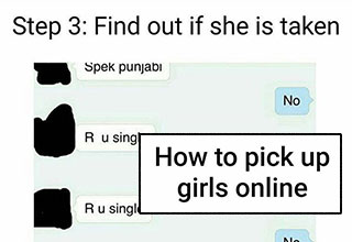 a fool proof to picking up women online