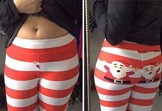 hilarious naughty christmas fails