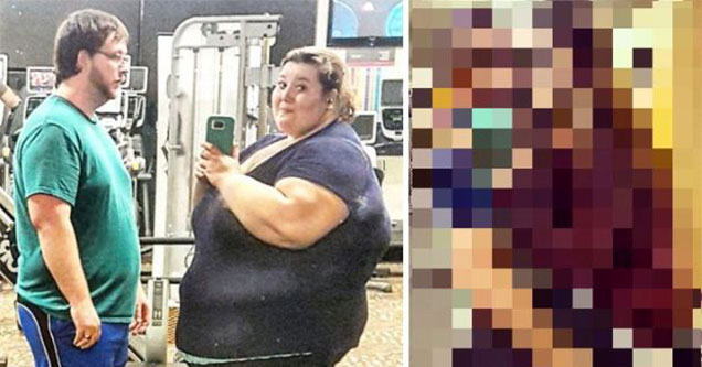 married couples loses tons of weight together