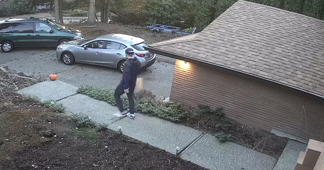 How an Idiot Steals a Package