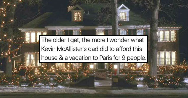 a breakdown of how much Home alone cost