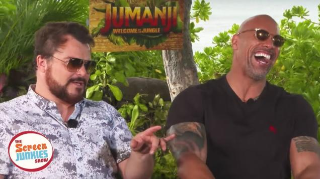 Jack Black Does A Great Impression of The Rock