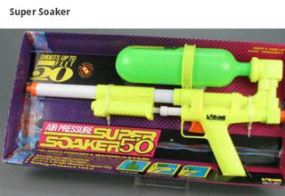 super soaker 50 still in the packaging
