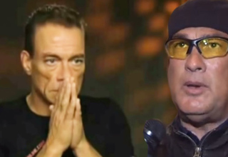 Jean-Claude Van Damme and steven seagal